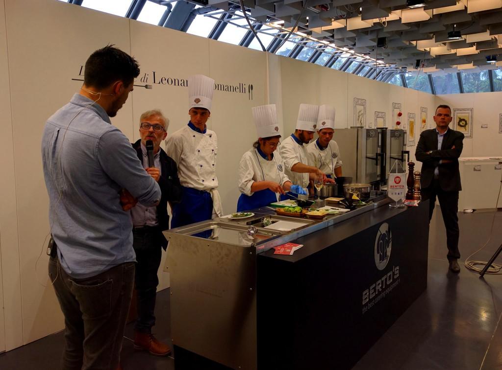 Lo chef Simone Cipriani intervistato da Leonardo Romanelli